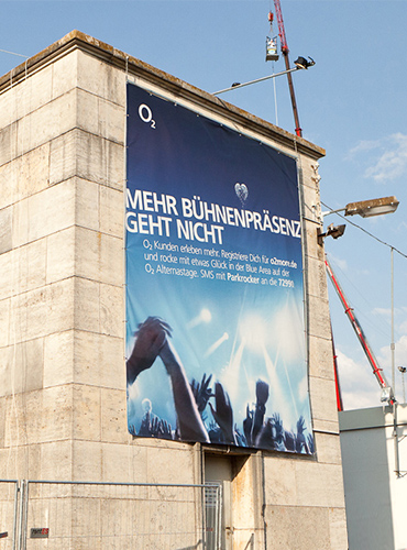 o2 Sponsoring at Rock am Ring & Rock im Park