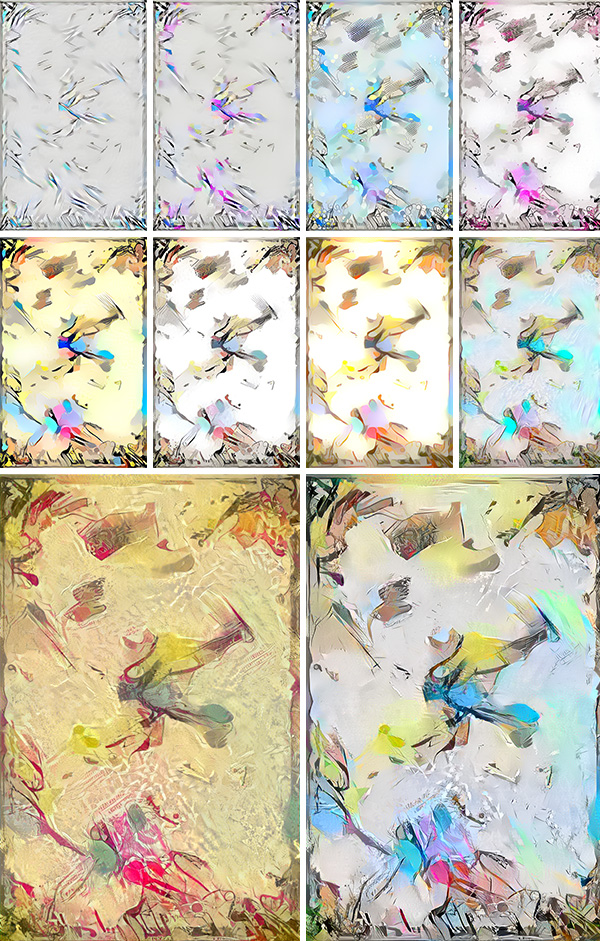 The essence of art – AI generated artwork